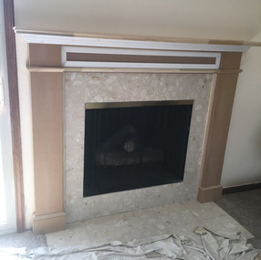 Mantel shelby after