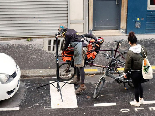 Une assistance pour les vélos des soignants en Ile-de-France