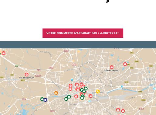 Mise en relation des petits commerces et des consommateurs à Rennes