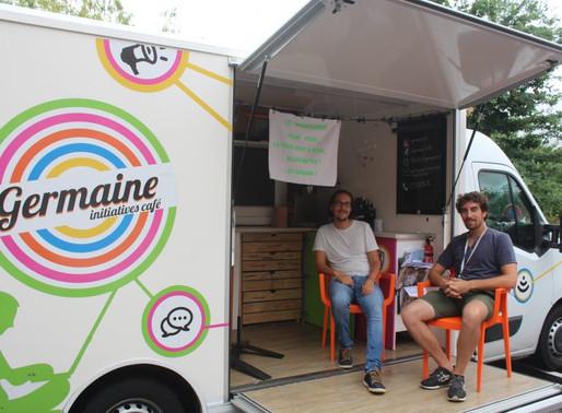 Germaine, le café numérique itinérant