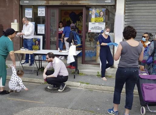 Les militants de Bagnolet s'organise pour aider les précaires