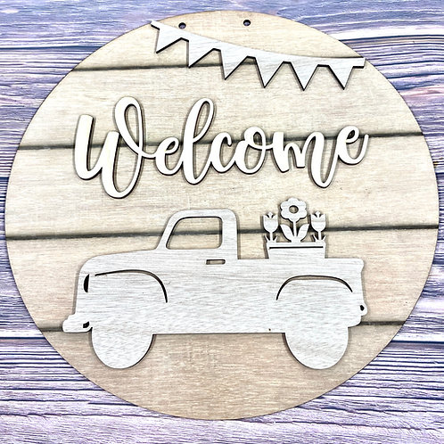 Wholesale Welcome spring truck