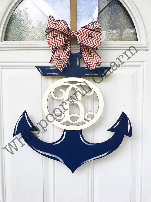 Wholesale Monogram Anchor