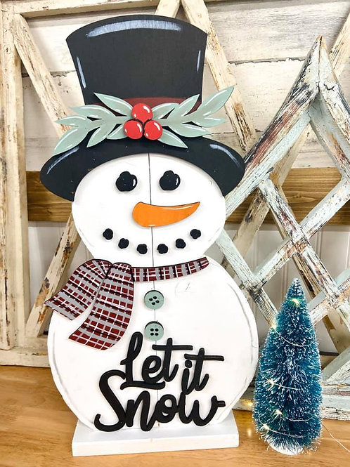 Stand Up Snowman - Let it Snow