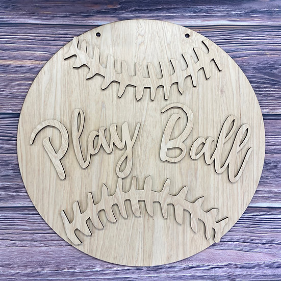 Baseball or Softball home decor