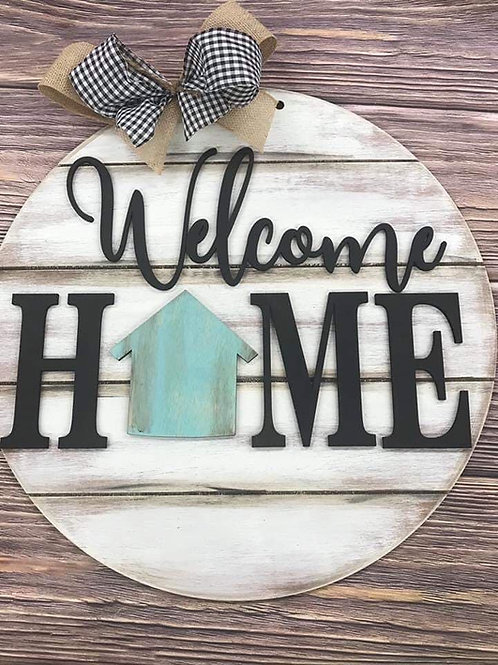 Wholesale Welcome Home with shape