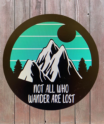 Mountains-Not all who wander