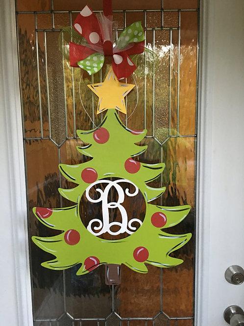 Wholesale Christmas Tree Monogram