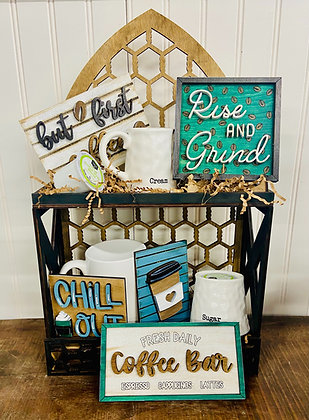 Coffee tier tray