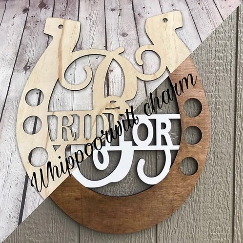 Wholesale Monogram Horseshoe