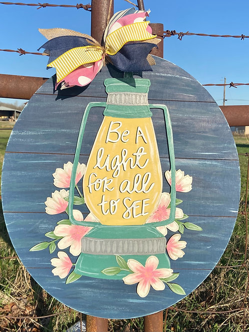 Be the light for all to see