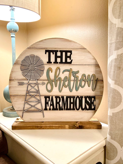 Stand Up Farmhouse