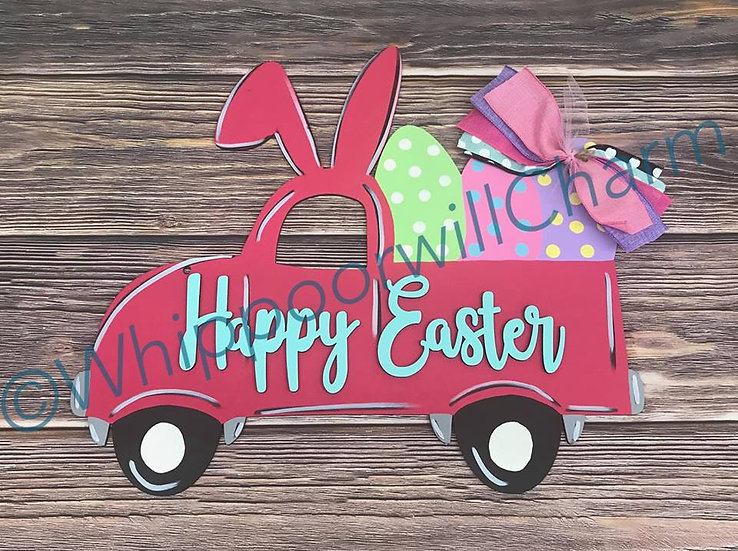 Unfinished Easter Truck