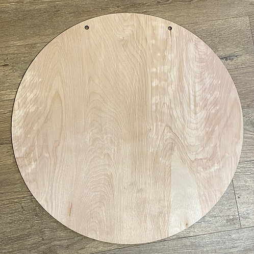 Solid circle cut out