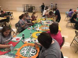 Paint Party Success