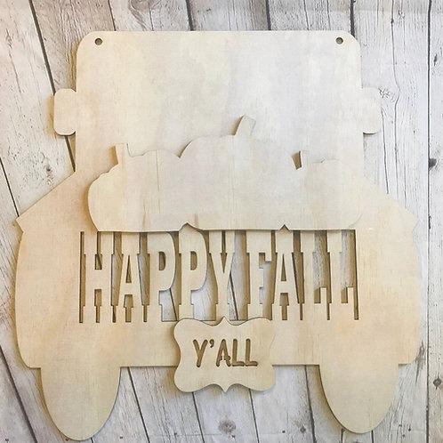 Truck happy fall yall