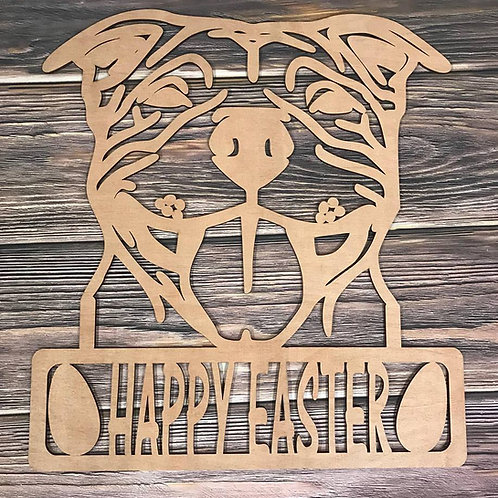 Bulldog Home Decor Sign