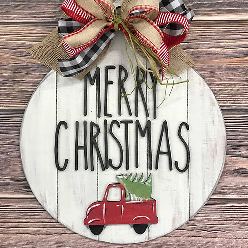 Wholesale shiplap ornament door hanger