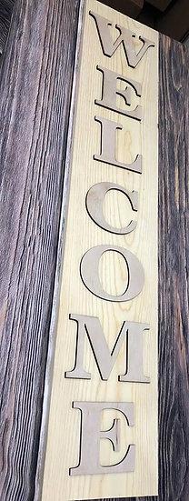 Welcome Door Leaner Porch