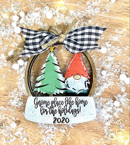 gnome holiday ornament 2020