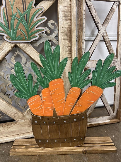 Stand Up Carrot Bucket