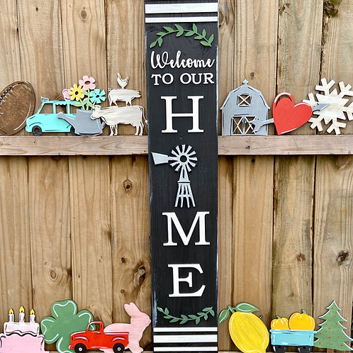 Wholesale welcome to our home interchangeable