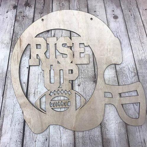 Rise Up Football Helmet