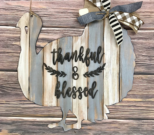 Turkey Design Door Hanger Home Decor
