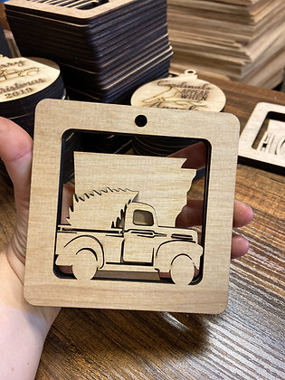 Truck State Ornament Dimensional