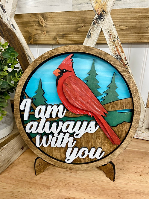 Cardinal I am with you always