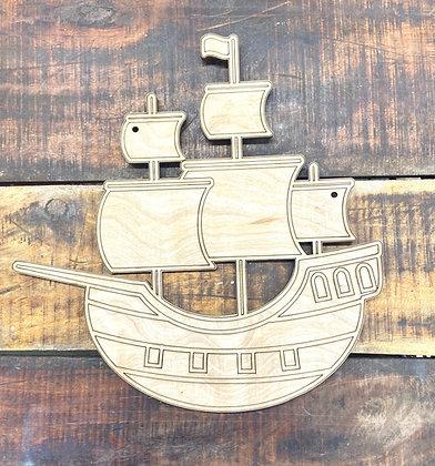 Pirate ship kid design