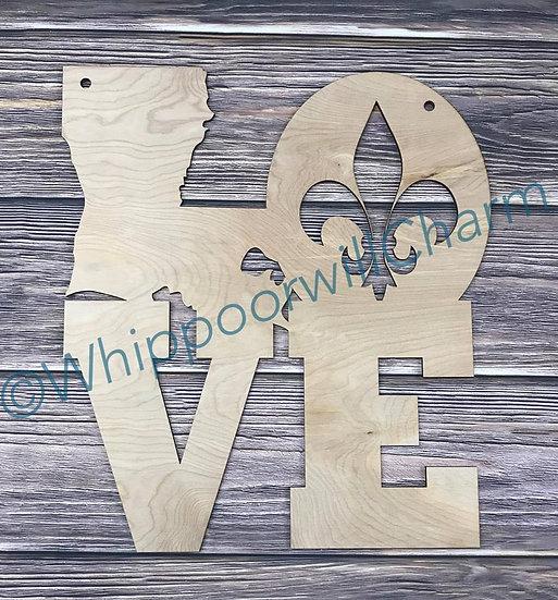 Unfinished Love Louisiana State