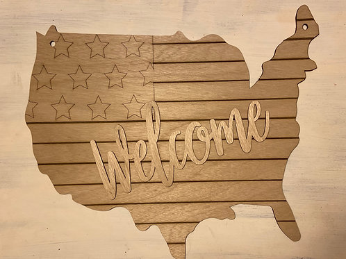 USA welcome