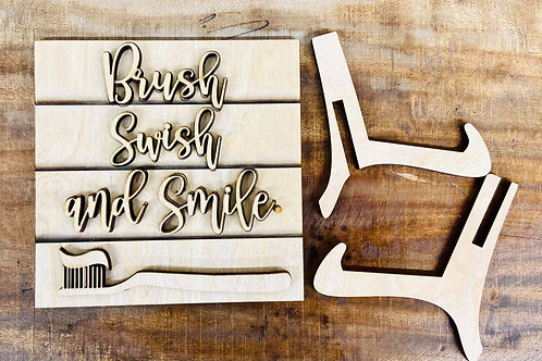 Brush Swish and Smile