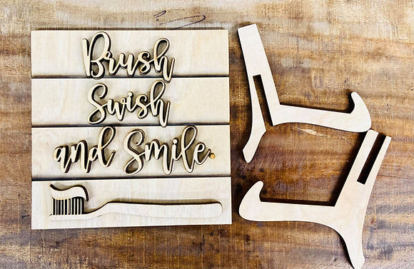 Brush Swish and Smile