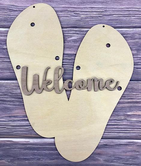 Flip flop welcome