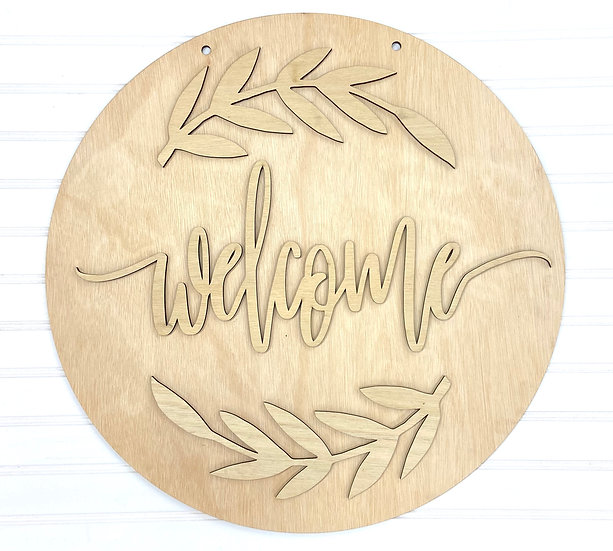 Welcome Olive Leaf