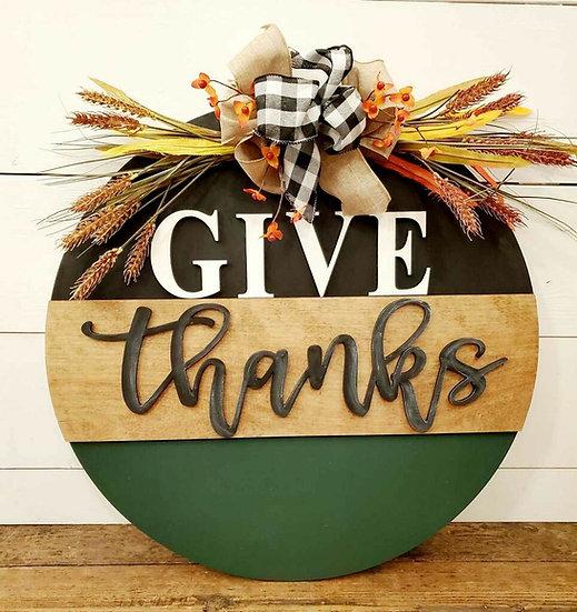 Give thanks circle