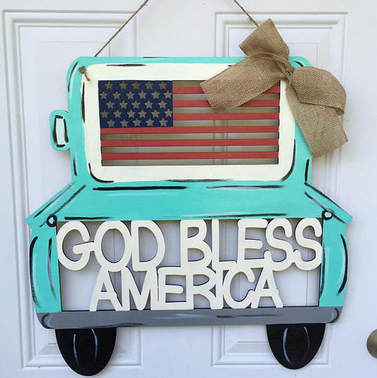 God bless America patriotic truck.jpg