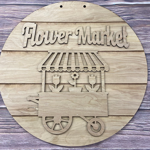 Wholesale Flowers market