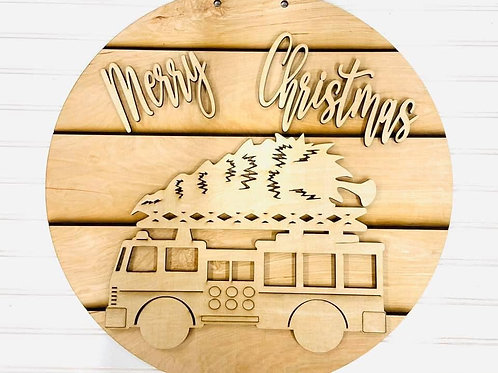 Christmas Firetruck