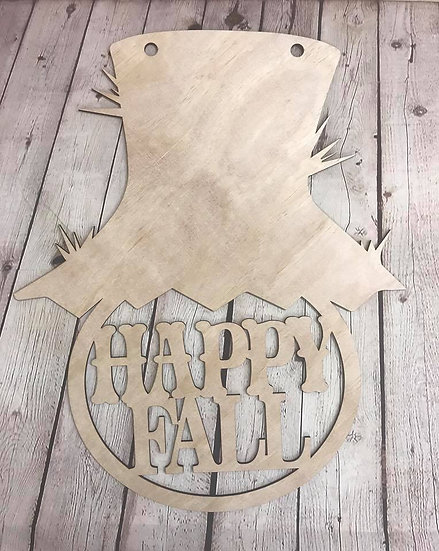 scarecrow sign