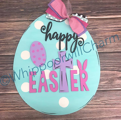 Unfinished Happy Easter Egg