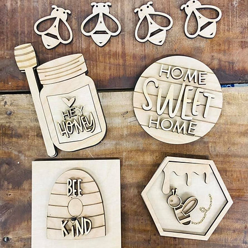 Bee Themed Spring Wholesale Tier Tray Decorations