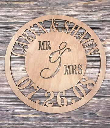 Monogram Classic Wedding