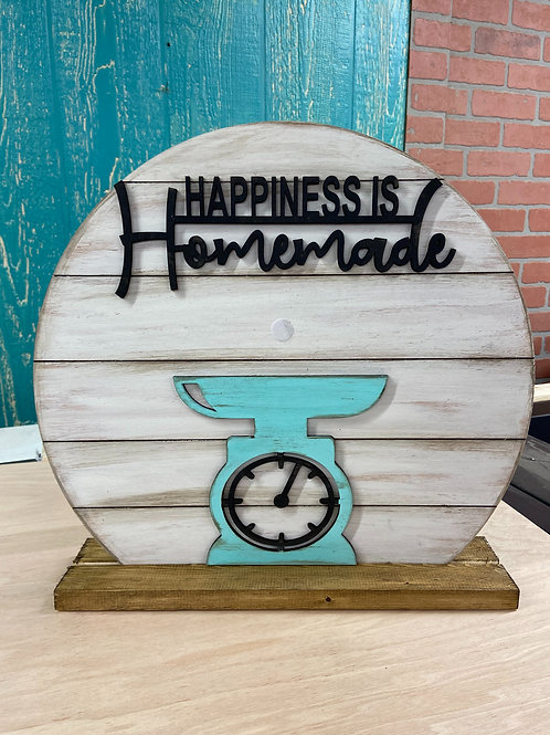 Wholesale happiness is homemade (unpainted)