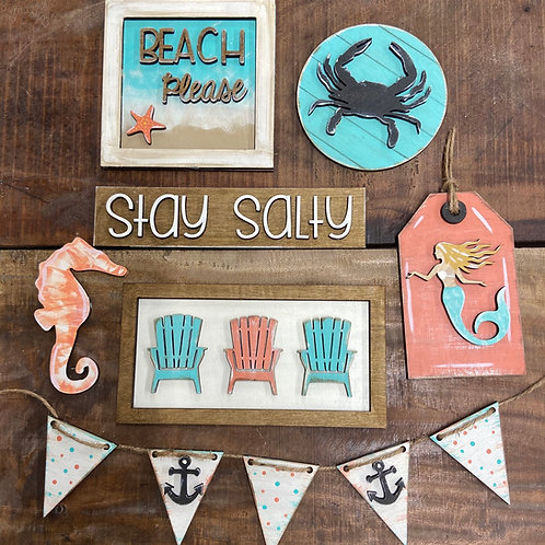 Beach Tier Tray Bundle ( Tray Not Included)