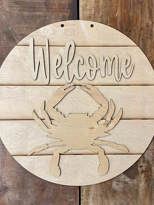 Welcome blue crab