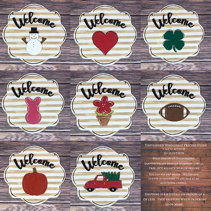 Home Decor Sign Welcome Wholesale