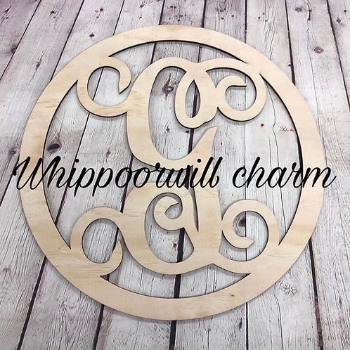 Wholesale Single letter monogram